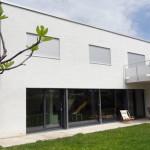 Villa familiale maçonnerie – façades – Yverdon-les-Bains
