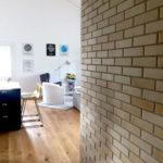 Mur en briques apparentes – Croy